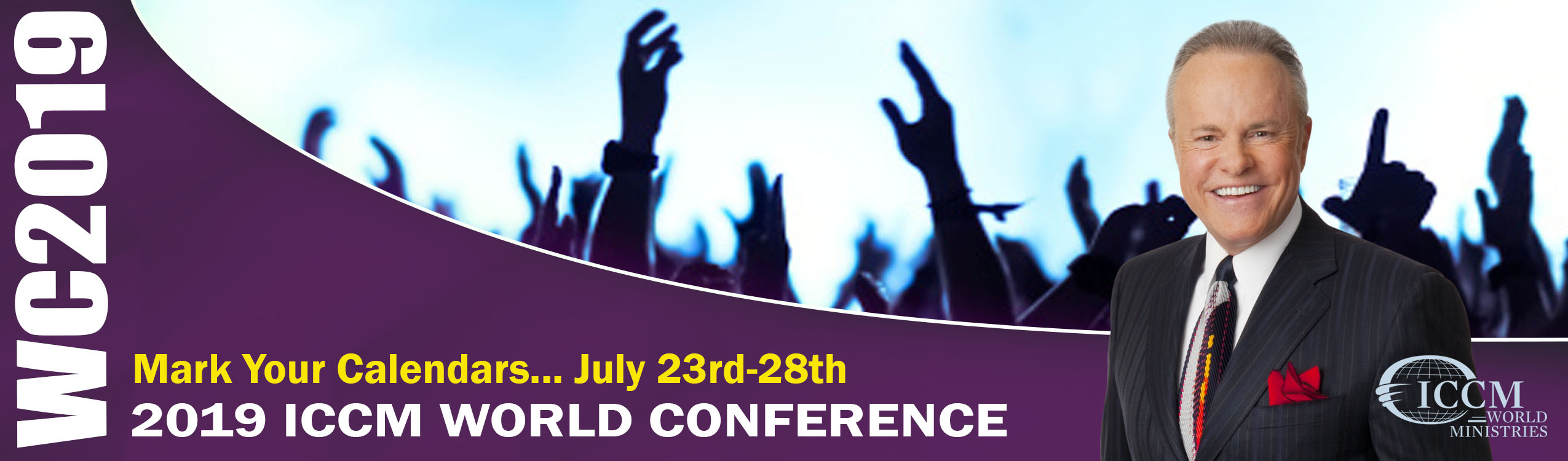 2019 ICCM World Conference information.