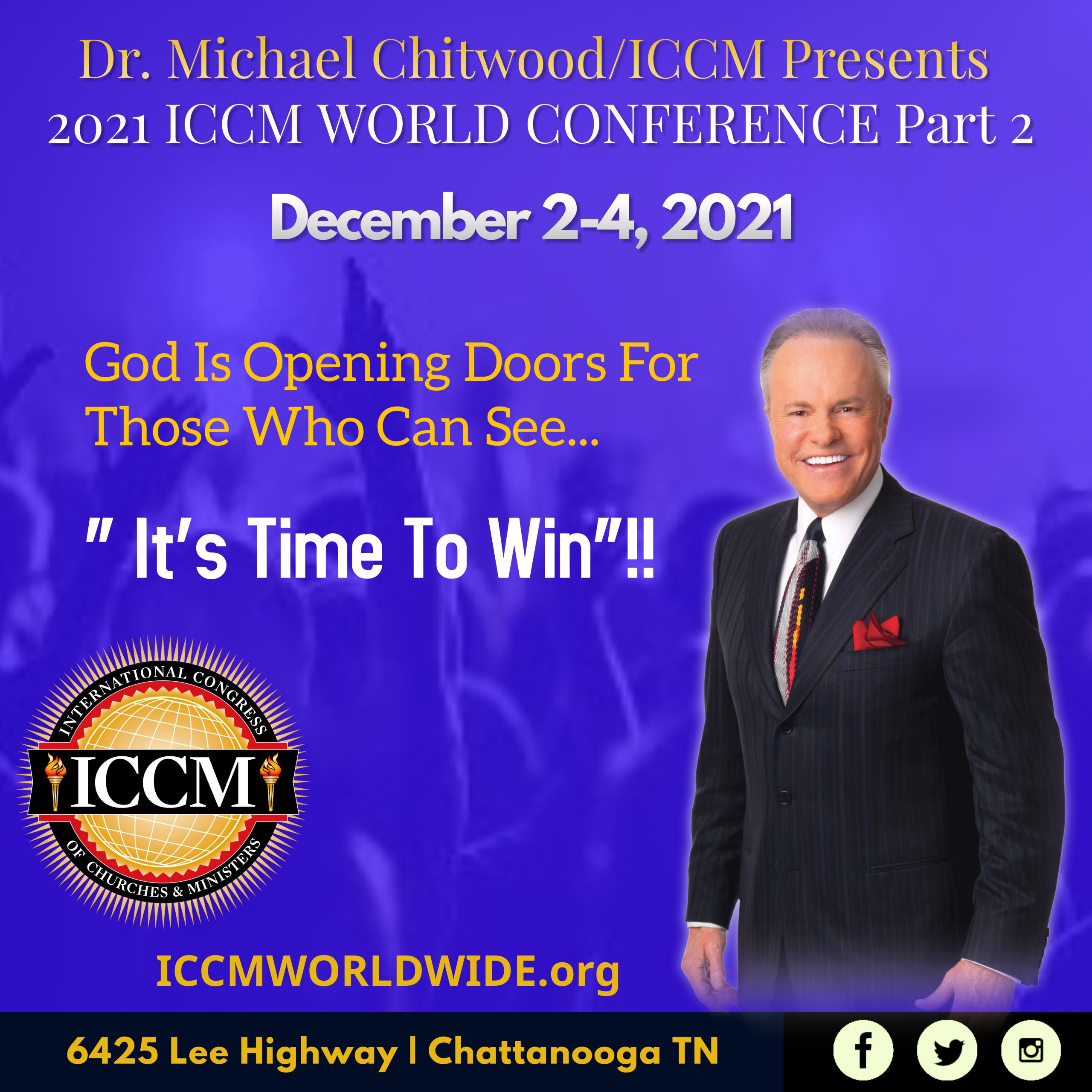 2021 World Conference December 2nd - 4th